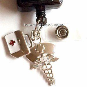 Accessories - RN LPN Nursing Gift ID Badge Holder Lanyard Nurse